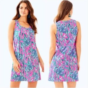 Lily Pulitzer Elephant Raylee Shift Dress Small